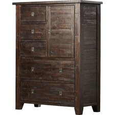 Bulwell 5 Drawer Media Chest by Three Posts