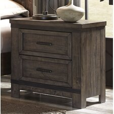 Haverhill 2 Drawer Nightstand by Loon Peak®