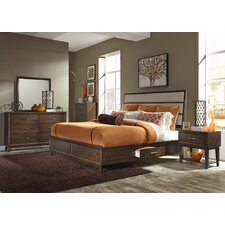 Bloomington Storage Customizable Bedroom Set by Three Posts