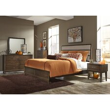 Bloomington Panel Customizable 7 Piece Bedroom Set by Three Posts