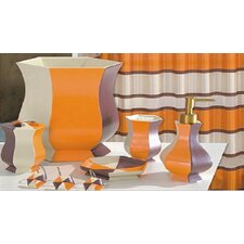 orange bathroom accessories you'll love  wayfair, Bathroom decor