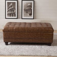 Classic Upholstered Storage Bedroom Bench by Corzano Designs