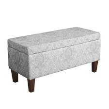 Bailey Upholstered Storage Bench by HomePop
