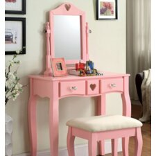 Pipi Vanity Set with Mirror by A&J Homes Studio