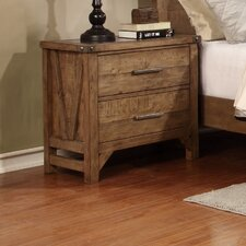 Telluride 2 Drawer Nightstand by Avalon Furniture