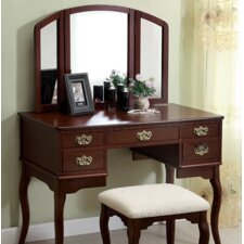 Moon Vanity Set with Mirror by A&J Homes Studio