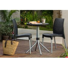Chelsea 3 Piece Resin Bistro Set by Keter
