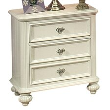 Athena 3 Drawer Nightstand by ACME Furniture