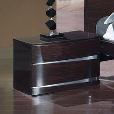 Aurora 2 Drawer Nightstand by Global Furniture USA