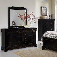 9 Drawer Dresser with Mirror by Beachcrest Home