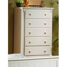 Astoria 5 Drawer Chest by Three Posts