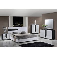 Hudson Panel Bed Customizable Bedroom Set by Global Furniture USA
