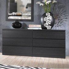 Lois 6 Drawer Dresser by Varick Gallery®