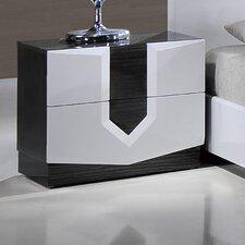 Hudson 2 Drawer Nightstand by Global Furniture USA