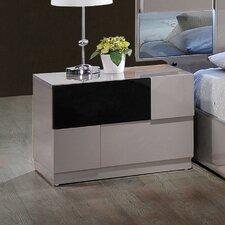 Bianca 2 Drawer Nightstand by Global Furniture USA