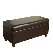 McMurray Upholstered Storage Bench by Three Posts