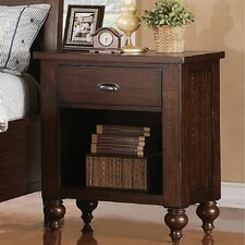 Baddeck 1 Drawer Nightstand by Loon Peak®