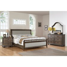 Beckles Queen Sleight Customizable Bedroom Set by Rosalind Wheeler