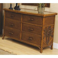 Cypress 6 Drawer Dresser by Bay Isle Home