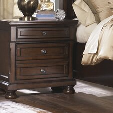 Hanley 3 Drawer Nightstand by Astoria Grand