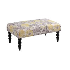 Lolita Fabric Bedroom Bench by Bungalow Rose