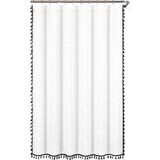 Shelley Tasseled Shower Curtain