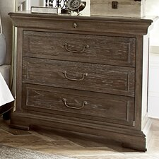 Pond Brook 3 Drawer Nightstand by Darby Home Co®