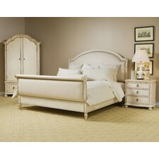 Mariana Upholstered Sleigh Customizable Bedroom Set by One Allium Way®