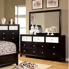 Aeline 7 Drawer Dresser with Mirror by House of Hampton