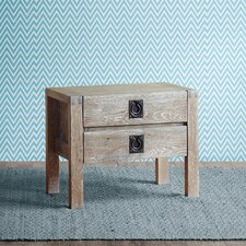 Oaktown 2 Drawer Nightstand by INK+IVY