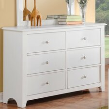 KC 6 Drawer Dresser by A&J Homes Studio
