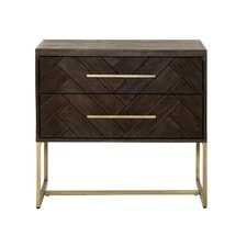Montcerf 2 Drawer Nightstand by One Allium Way®