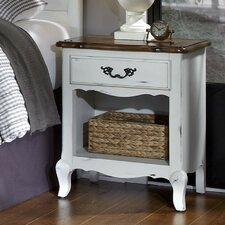 French Countryside 1 Drawer Nightstand by Home Styles