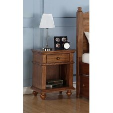 Courtdale 1 Drawer Nightstand by Three Posts