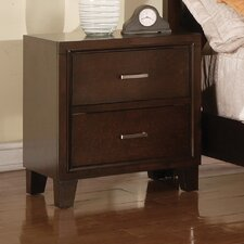 Carreras 2 Drawer Nightstand by Charlton Home®