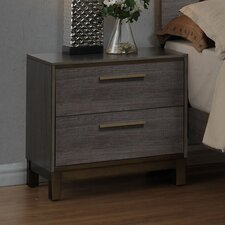 Mars 2 Drawer Nightstand by Trent Austin Design®