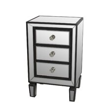 Kara 3 Drawer Nightstand by House of Hampton