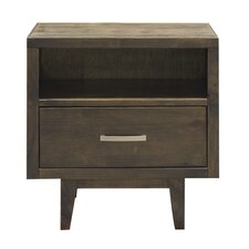 Calavar 1 Drawer Nightstand by Loon Peak®