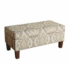 Neena Upholstered Storage Entryway Bench by Bungalow Rose