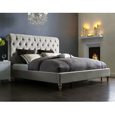 Lomax Upholstered Platform Bed by House of Hampton Reviews