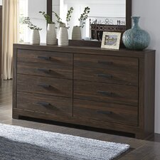 Caffey 6 Drawer Dresser by Red Barrel Studio®