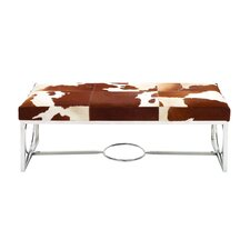 Leather Bedroom Bench by Cole & Grey