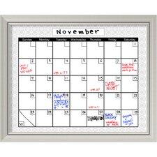 picture of framed chalkboard calendar