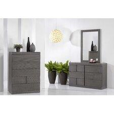 6 Drawer Dresser with Mirror by Wade Logan®