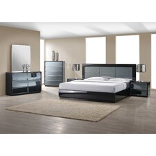 Platform Customizable Bedroom Set by Wade Logan®