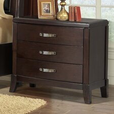Mcduffie 3 Drawer Nightstand by Darby Home Co®