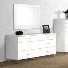 Samir 6 Drawer Dresser by Wade Logan®