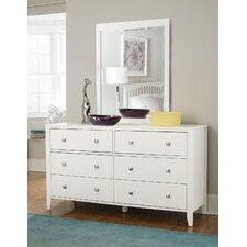 Susan 6 Drawer Dresser with Mirror by Viv + Rae