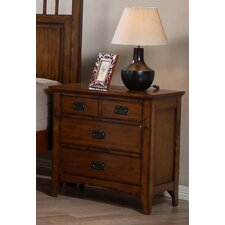 Elgin 4 Drawer Bachelor's Chest by Loon Peak®