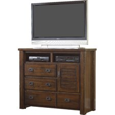 Tourmalet 4 Drawer Media Chest by August Grove®